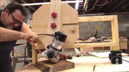 男子自制挖槽机, 原来轨道还可以做成十字形的, 长见识了