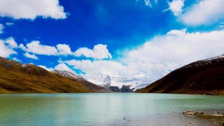 藏传佛教中的苯教神山之一-那曲比如县萨普神山延时视频