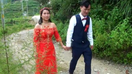 湖南农村一对新人结婚, 新娘是外地打工认识的, 很漂亮