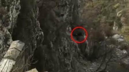 驴友穿越箭扣长城坠崖 消防已送其下山