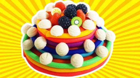 月采超Q食玩玩具 培乐多手工美味蛋糕