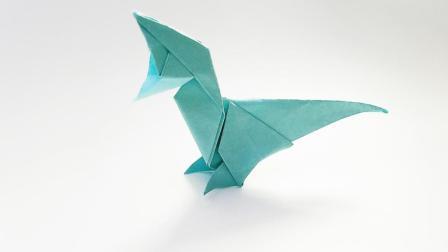 折纸王子折纸张口霸王龙