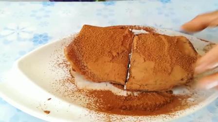 想吃蛋糕自己在家做, 不用烤箱, 不用电饭锅, 香甜美味, 超简单!