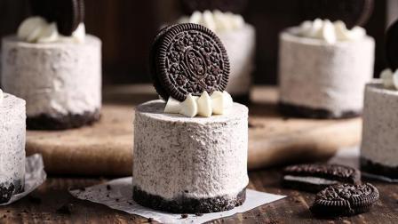 无需烤箱! 这款美味香浓的奥利奥冻芝士蛋糕, 用冰箱就能做!