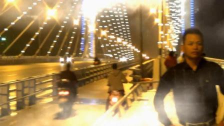 夜游柳州白沙大桥
