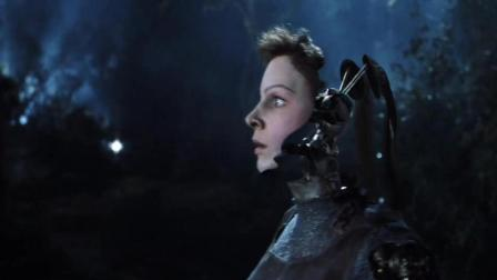 高分科幻片《人工智能》经典片段, 未来的AI有了自主思维