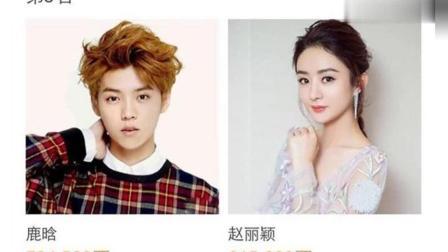 微博之夜红人榜鹿晗仅排第三! 网友: 第一实至名归