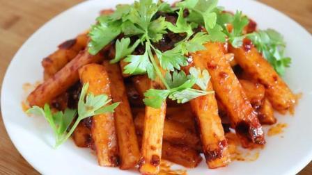 白萝卜这样吃才过瘾, 香辣爽口又下饭, 一个根本不够吃