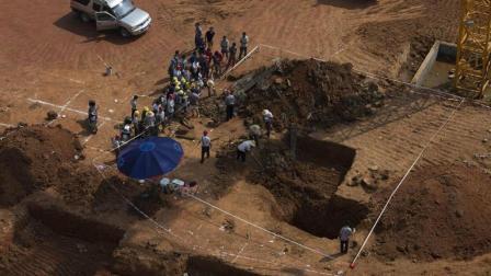 江苏一座项羽军师墓, 考古队挖开地宫慌忙退出