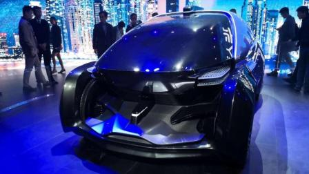 华人运通概念车发布, 颜值太高太科幻!