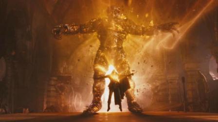 小伙的灵魂被出卖给恶魔, 召唤出了火焰巨兽! 一部魔幻冒险电影