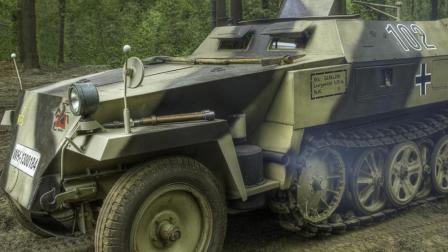 「原创视频」3D打印-二战模型Sd.Kfz. 250半履带车