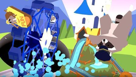 【小熙解说】 黑洞模拟器 把摩天轮当水车吞噬了迪士尼浣熊乐园!