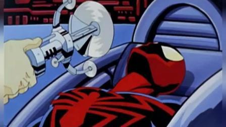 超级蜘蛛侠: 蜘蛛侠在被开膛破肚的一瞬间逃了出来, 被人类拯救