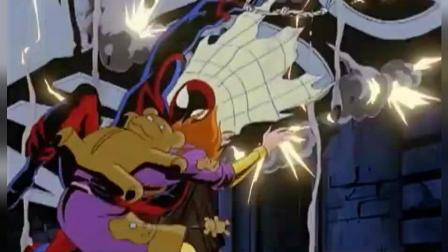 超级蜘蛛侠: 蜘蛛侠被这个星球的动物者抓住, 要看他的真面目