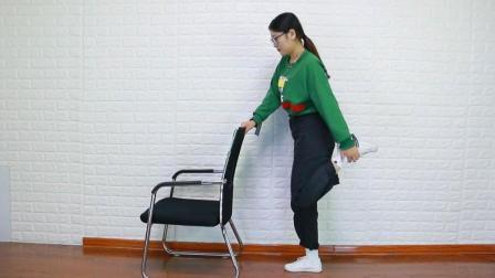 膝盖疼的伸不直腿, 每天坚持1个动作, 膝盖不疼爬楼轻松