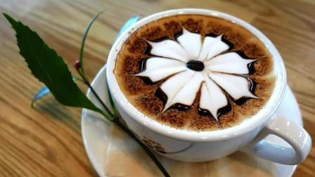 就算手被二哈啃过, 也能一分钟做出精美的咖啡拉花!