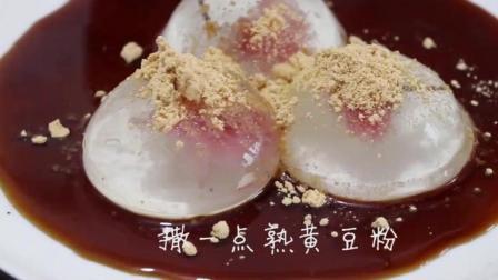 想吃果冻不用买, 这种粉和水就能做, 加朵樱花, Q弹爽滑颜值超高