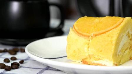 又到橙子旺季, 做个香橙蛋糕卷吧, 甜香清爽的味道你肯定喜欢!