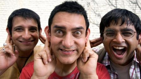 印度经典的喜剧电影《三傻大闹宝莱坞》, 调皮的学生往往很有出息!