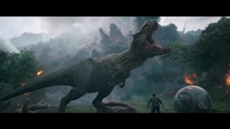 侏罗纪世界2: 火山爆发, 恐龙和人类只能逃命
