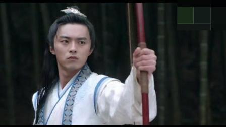 荆南王和叶子爷比箭法, 看瘪猴表情亮了