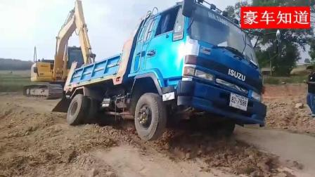 泰国用的卡车是日本五十铃的, 不过这驾驶技术也是没谁了