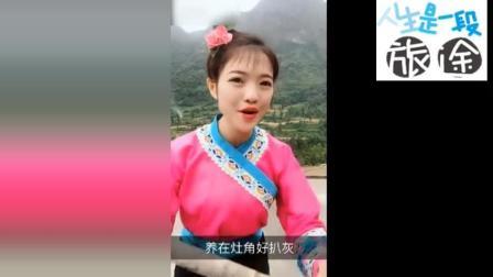 """贵州美女唱的太好听了, 原汁原味的唱腔, 让我想到了""""刘三姐"""""""