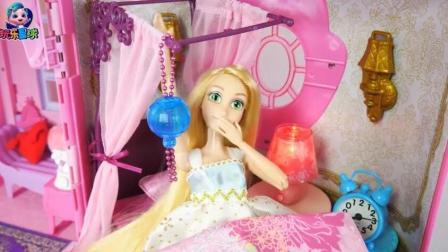 芭比公主粉色城堡度假开心过家家