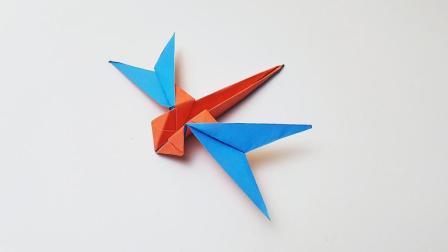 折纸王子折纸三角蜻蜓