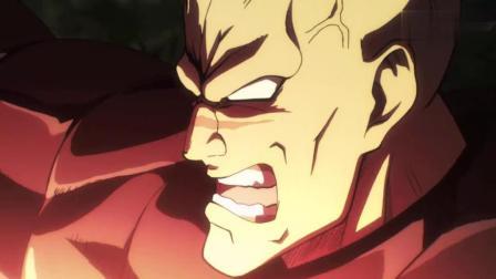 一拳超人: 埼玉老师的力量到底有多强大? 不过是轻轻一肘, 盔甲全副瓦解!