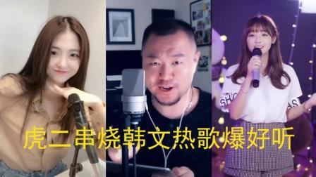 最近跻身热歌榜的韩文歌, 虎二串烧后别有滋味