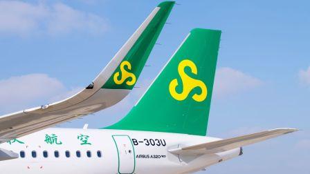 春秋航空A320neo成长记录