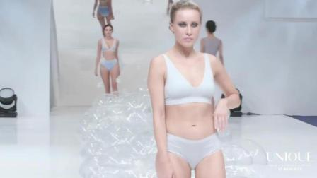 Unique 2019洛杉矶时装周泳装秀, 微胖的超模, 穿出了肉肉的时尚与性感!