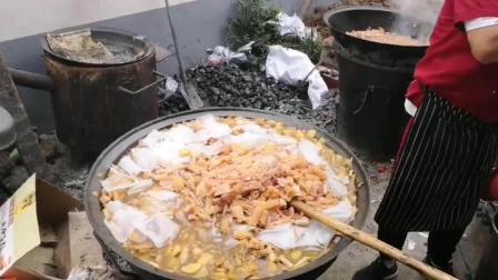 河南新乡, 白喜事上的早餐是这样的, 和你们那里