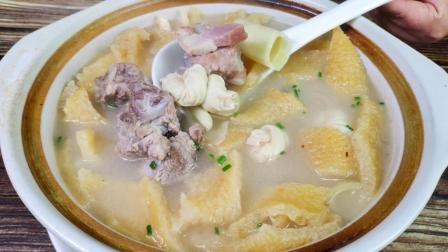 """上海特色菜""""腌笃鲜""""的正确做法, 咸香鲜美, 一大锅不够吃!"""