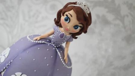 这真的不是索菲亚公主! 这是牛人做出的创意蛋糕, 满足你的少女心