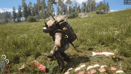 人渣scum: 这头熊很聪明, 但却让我吃上了这5天里的第一顿饱饭