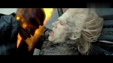 幽灵骑士驾驶灵魂战车, 一路开挂厮杀, 所有罪犯无处可逃