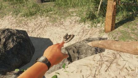 荒岛求生08: 捉到一条毒蛇, 鸡肉味嘎嘣脆