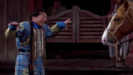 成龙经典影片上海正午 脾气古怪的马搞得人一点脾气都没有