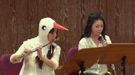 圣桑《动物狂欢节》普通话角色扮演室内乐版