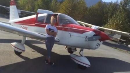 加拿大歌手站机翼上拍MV飞机失控不幸遇难