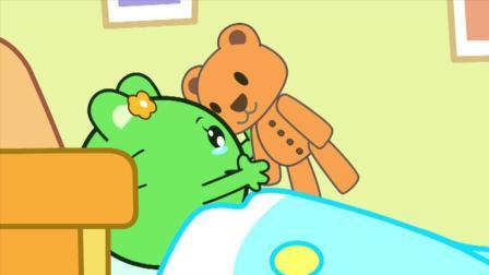 咕力和小熊说的话也跟爸爸妈妈说
