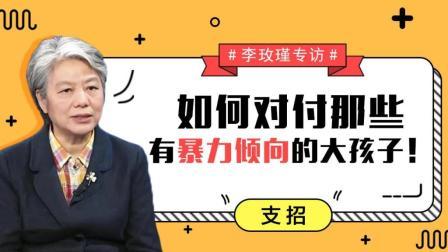 李玫瑾教授专访: 如何对付那些有暴力倾向的大孩子!