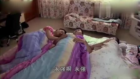 王小蒙谢永强睡懒觉, 网友谢广坤又要大嗓门的咆哮了!