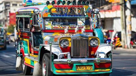 """菲律宾: 道路之王""""吉普尼"""