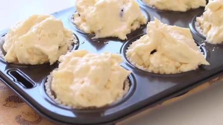 好吃的蓝莓奶油芝士蛋糕, 制作过程就是一种享受