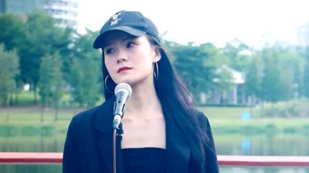 网红美女走心翻唱关于梦想的歌《追梦赤子心》