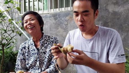 潮州肉粽原汁原味的做法, 馅料十足, 我能吃5个